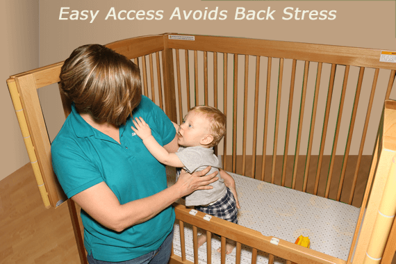 Crib Avoid Back Stress